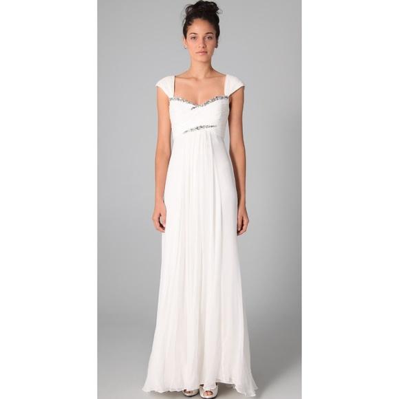 Marchesa Notte Dresses Rhinestone Empire Waist Wedding Drs Poshmark